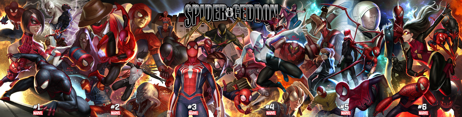 Inhyuk lee spider geddon 1 6