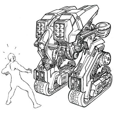 Kamel tazit alpha robo