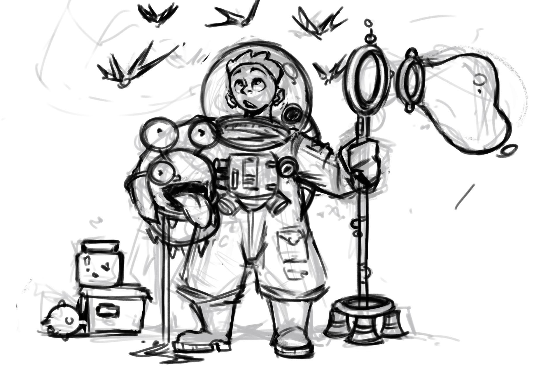 Anthea zammit bubble boy sketch
