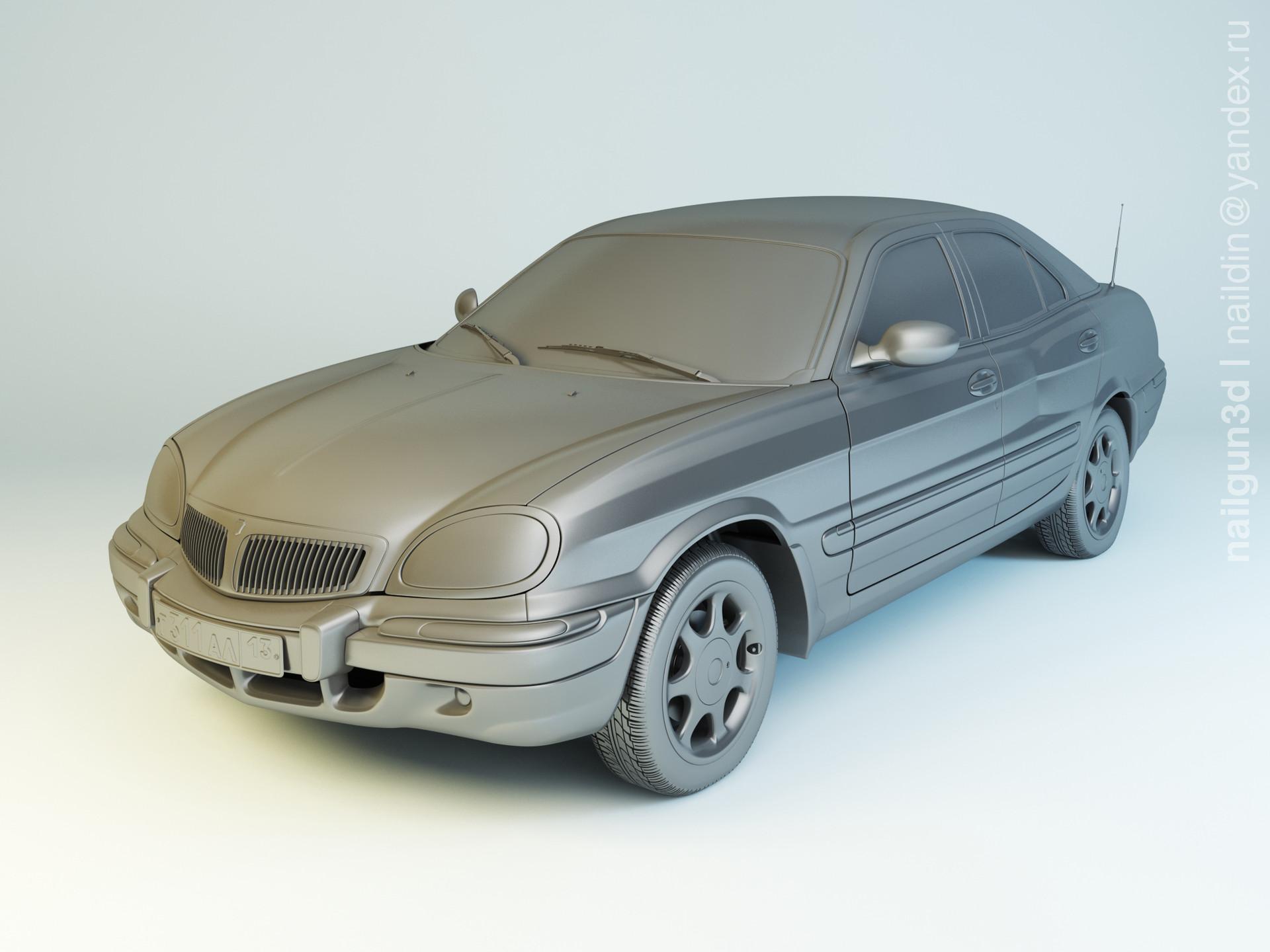 Nail khusnutdinov als 221 004 gaz 3111 modelling 0