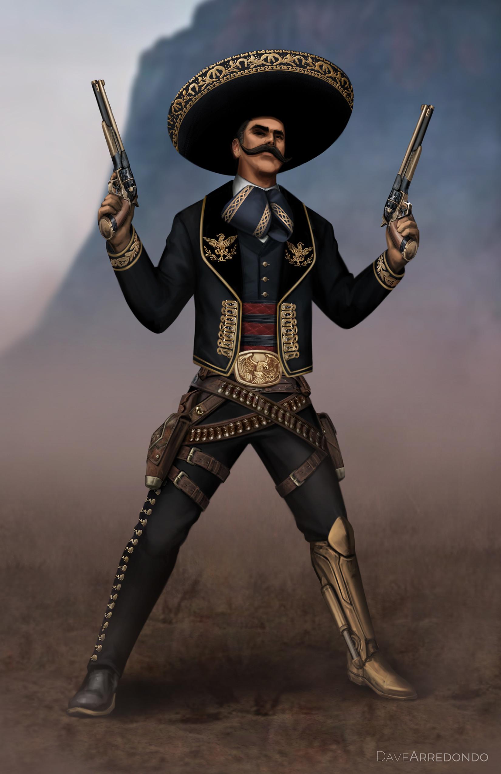 Dave arredondo dave arredondo wildwest gunslingers panchitorevolver