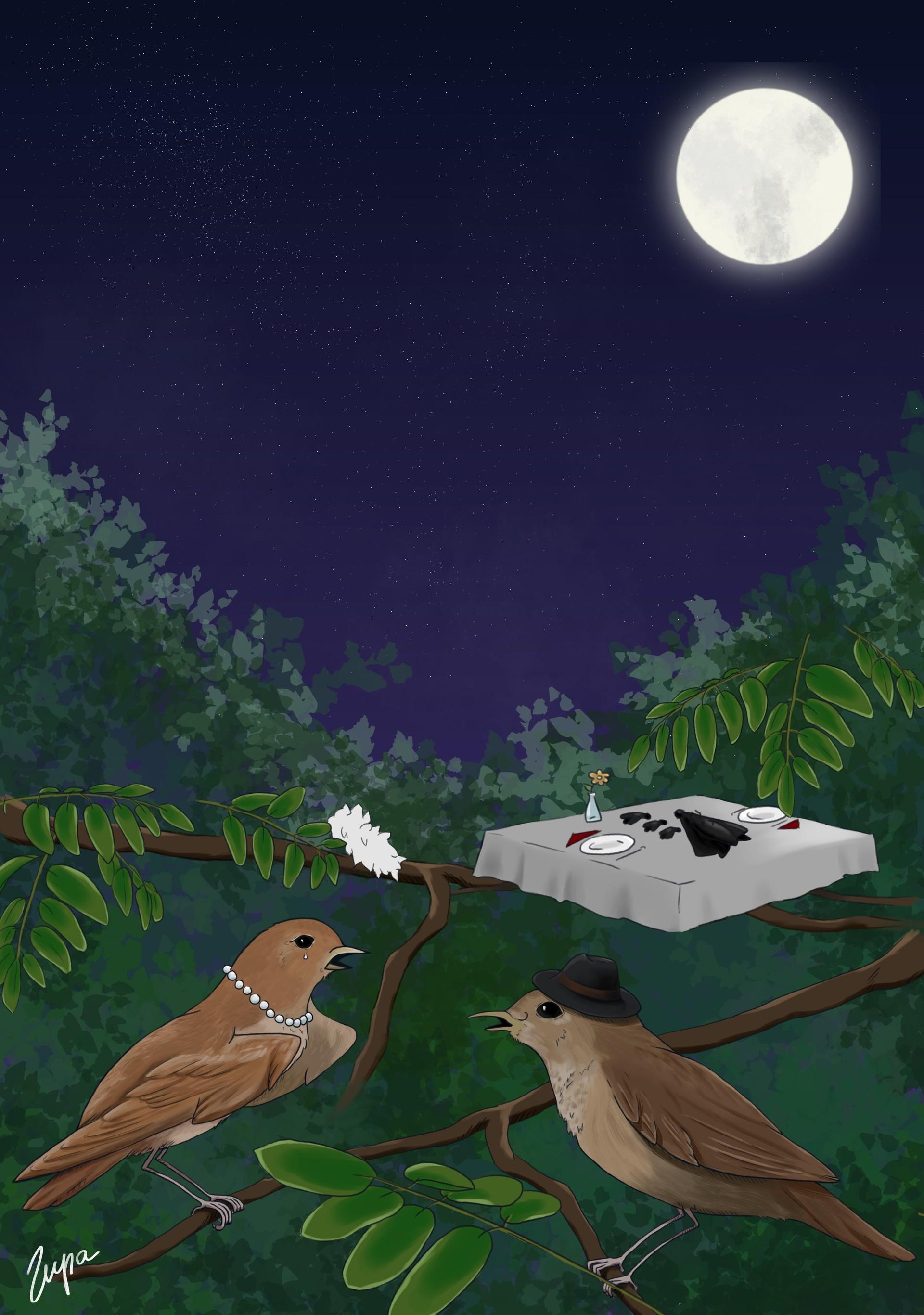 Artstation Illustrations For Childrens Poems Małgorzata