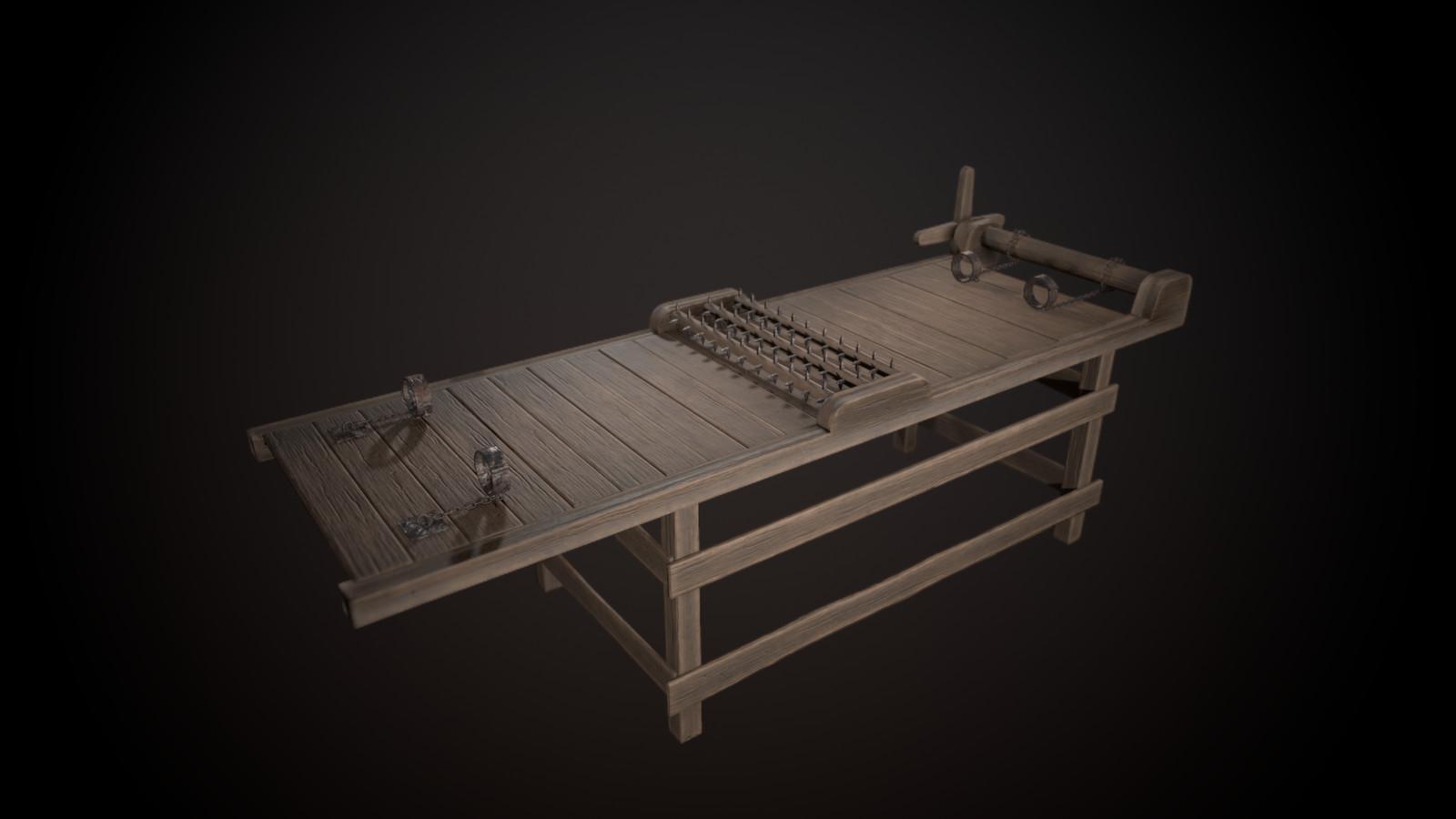 Torture Rack - 13906 tris