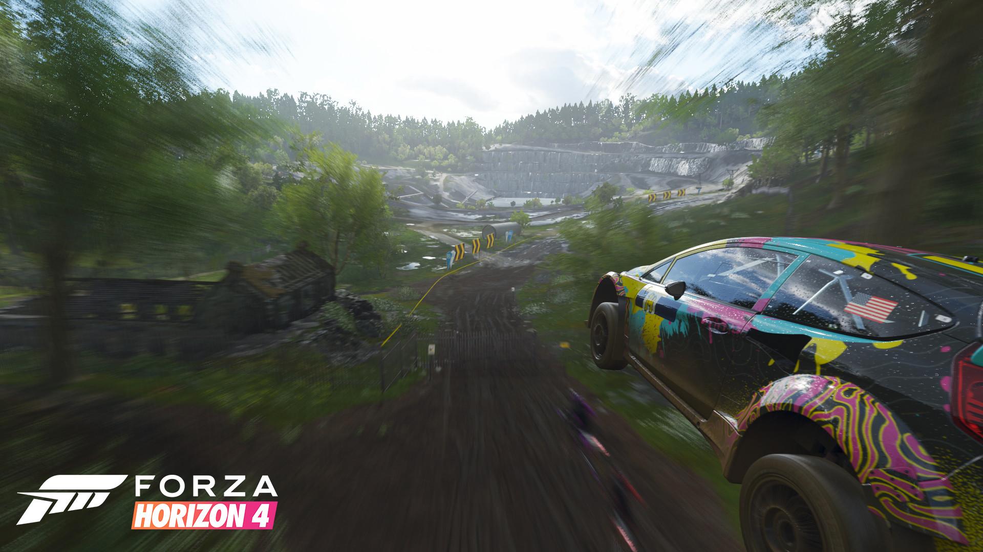 ArtStation - Forza Horizon 4 - Initial Experience & Festival