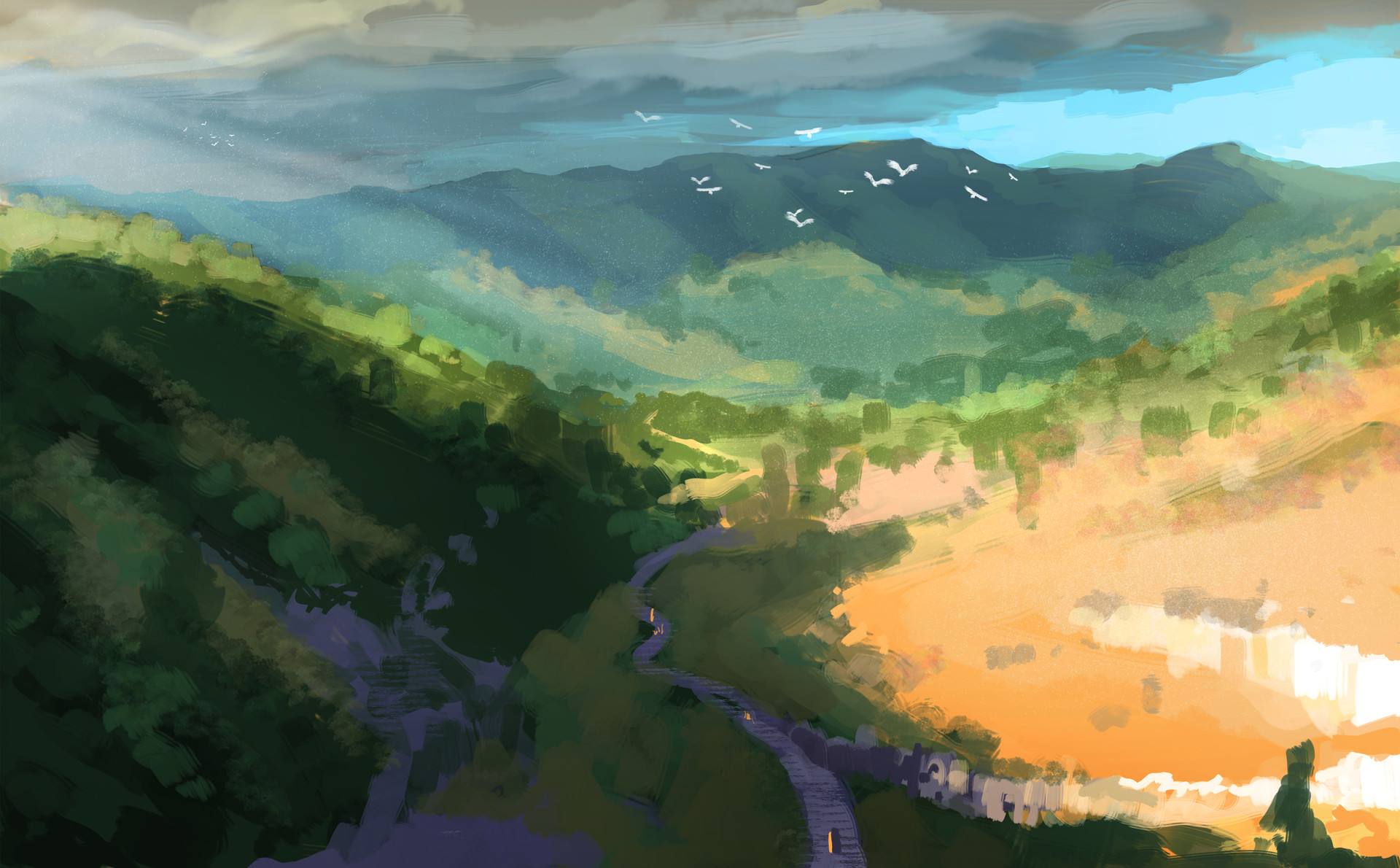 Nihils mountains