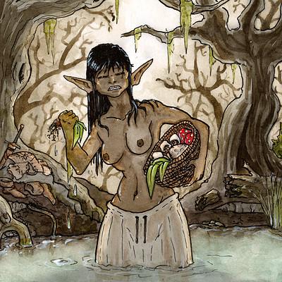Thomas roberts goulden water goblin morin gatherer