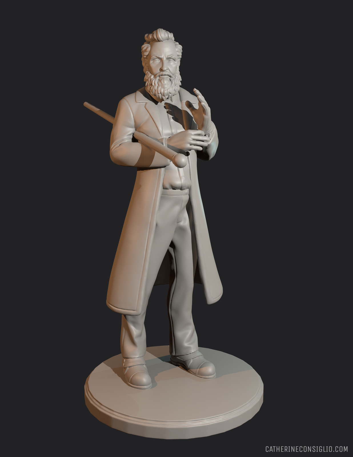William Stead - Victoriana 32mm Miniature