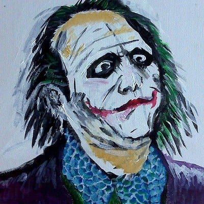 Christopher mckiernan joker painting