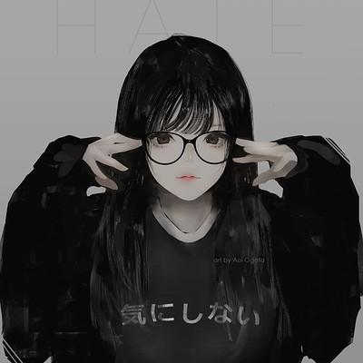 Aoi ogata maeglasses