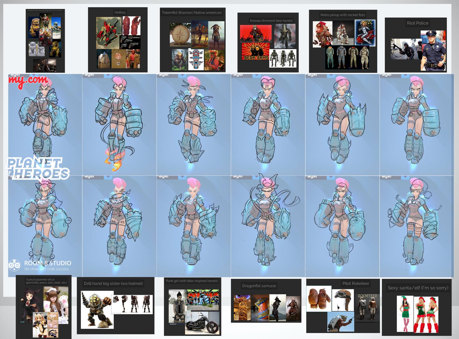 Room 8 studio demolisher skin sketches oct 10th min copy