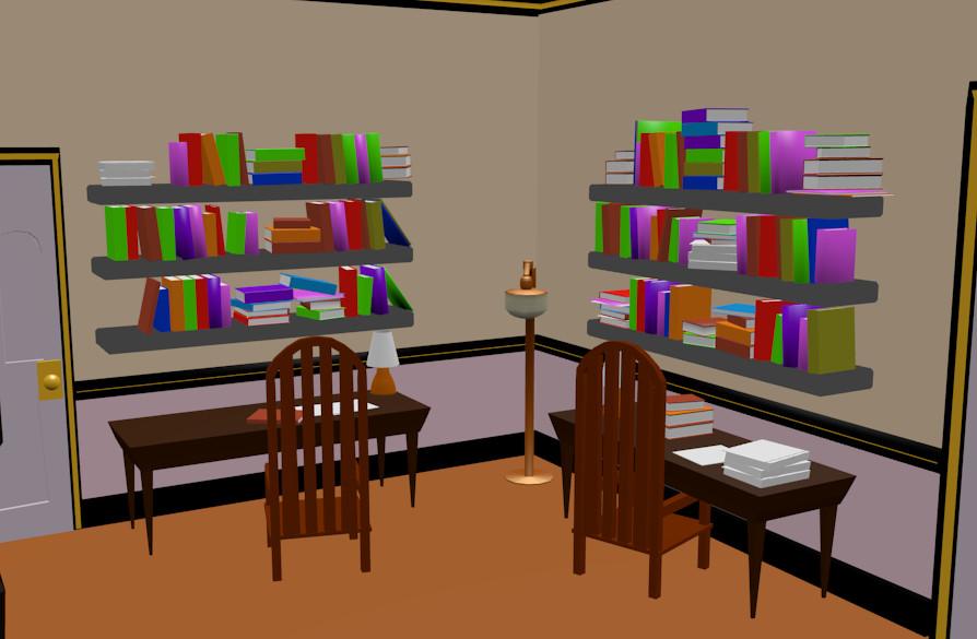 ArtStation - RWBY Chibi Dorm Room (Fanart) , David Passmore
