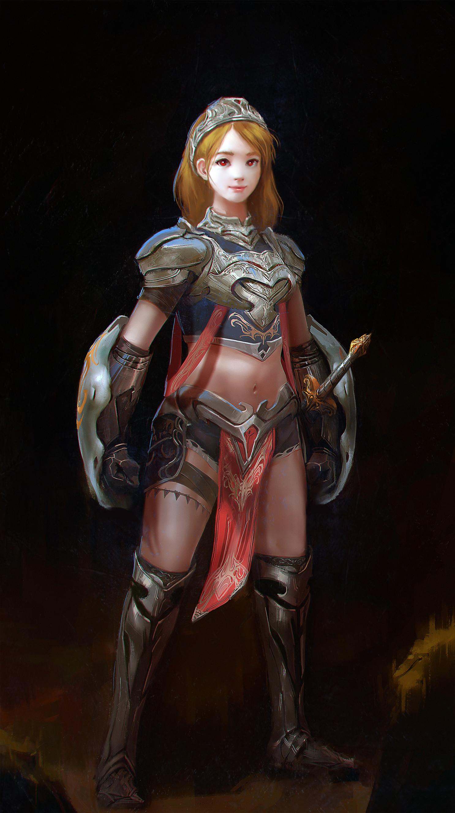 Josua rival illustration knight