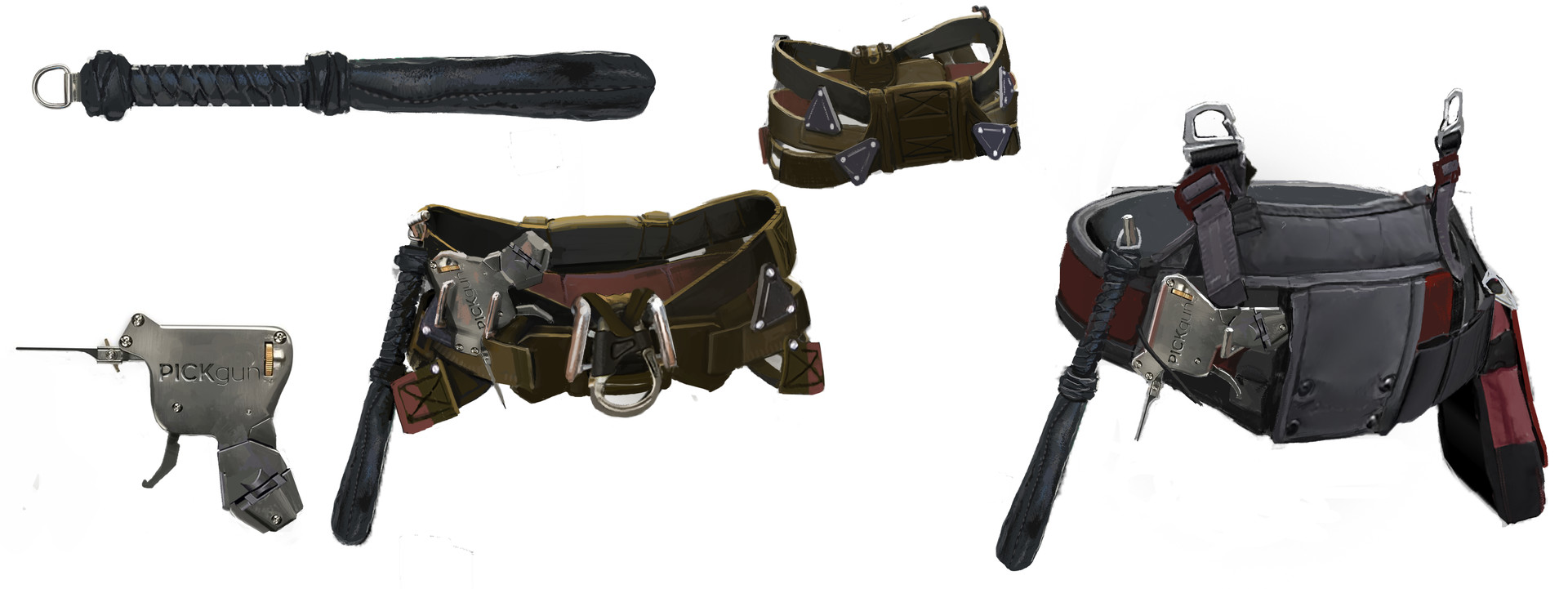 Infiltrator Equipment belts
