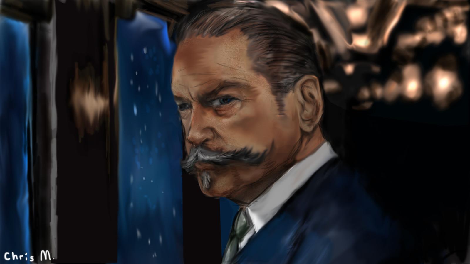 Artstation Hercule Poirot Christopher Mckiernan