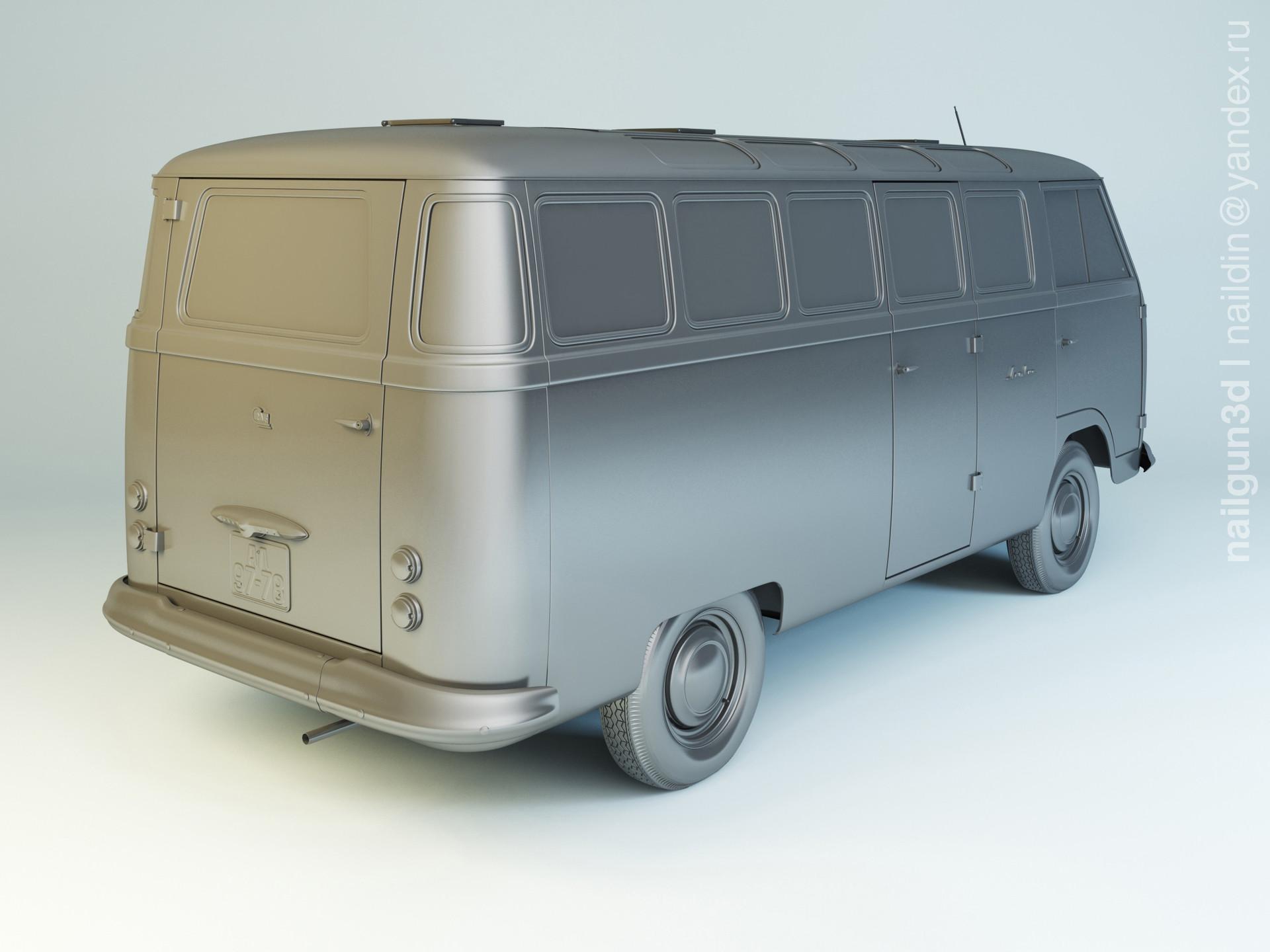 Nail khusnutdinov als 221 002 raf 977v latvija modelling 1