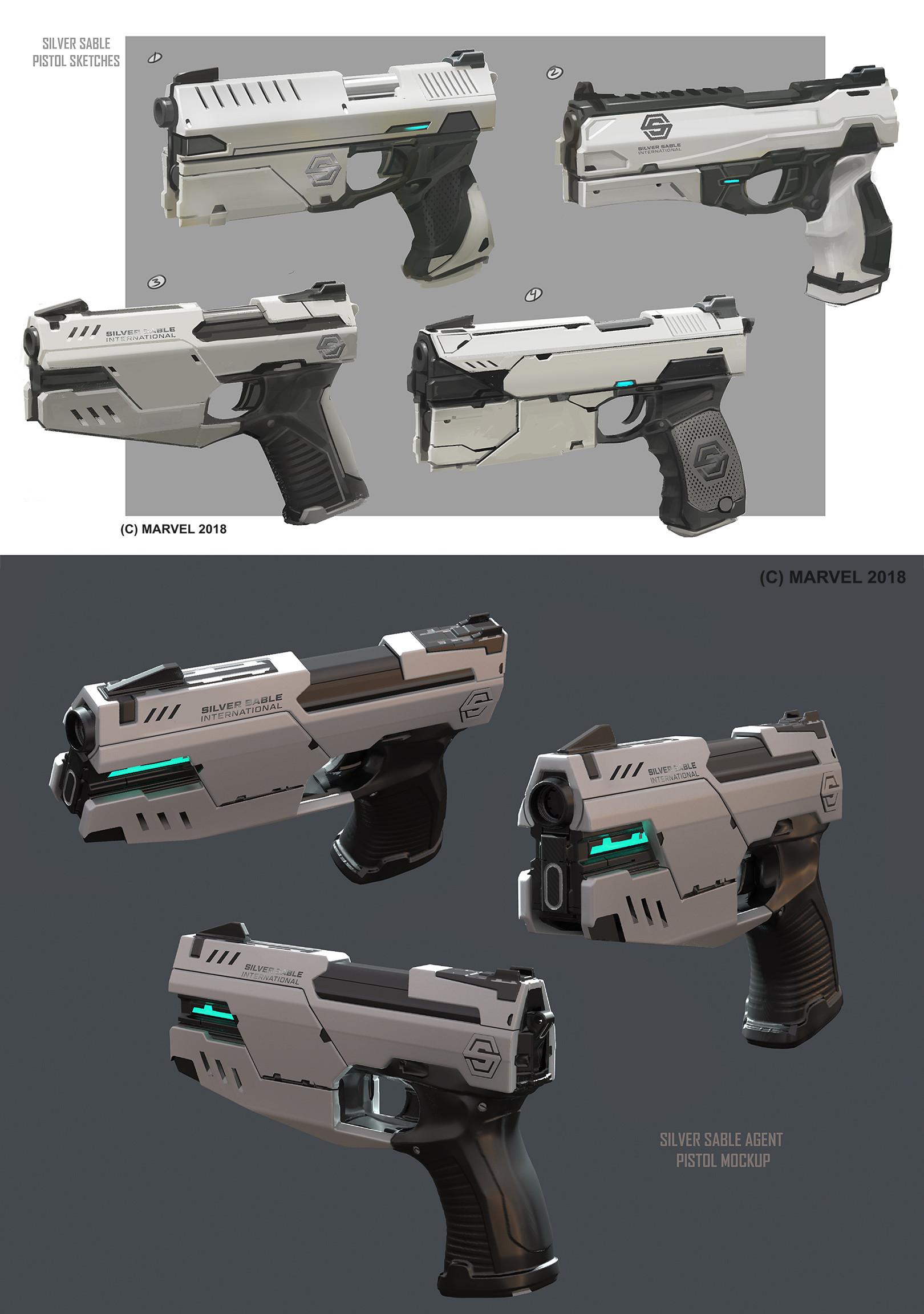 Daryl mandryk sable agent pistol