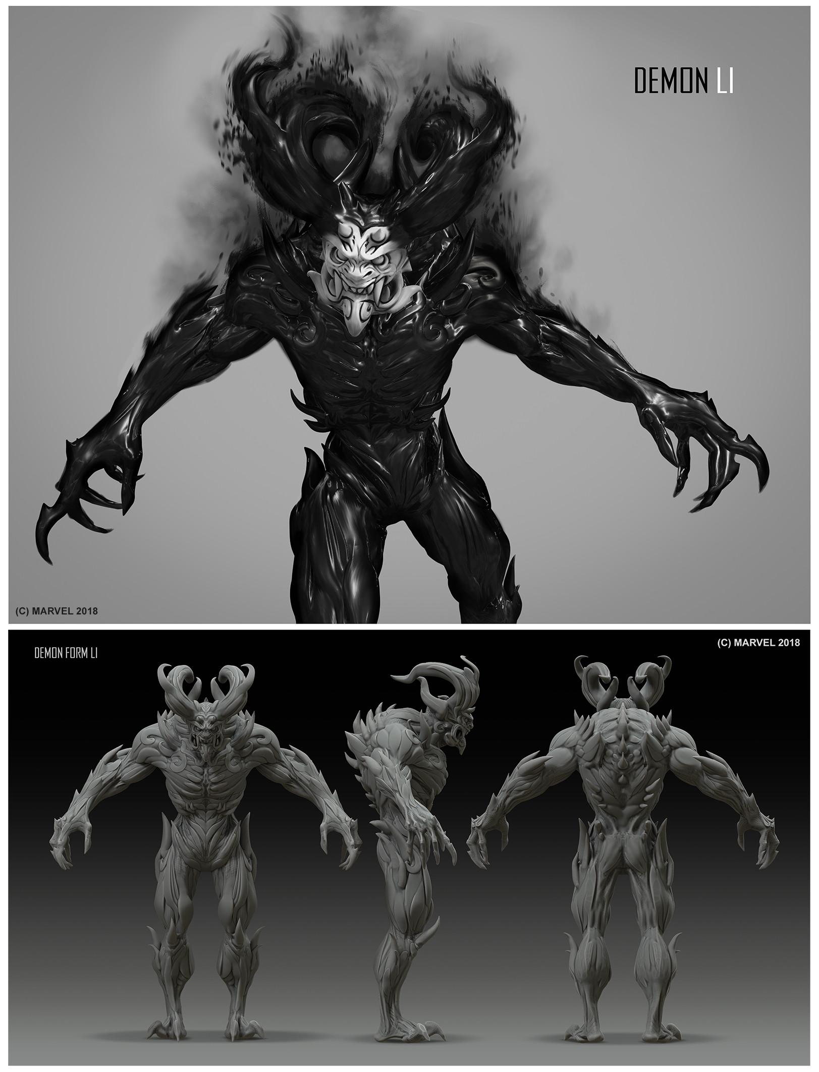 Daryl mandryk demon li 2