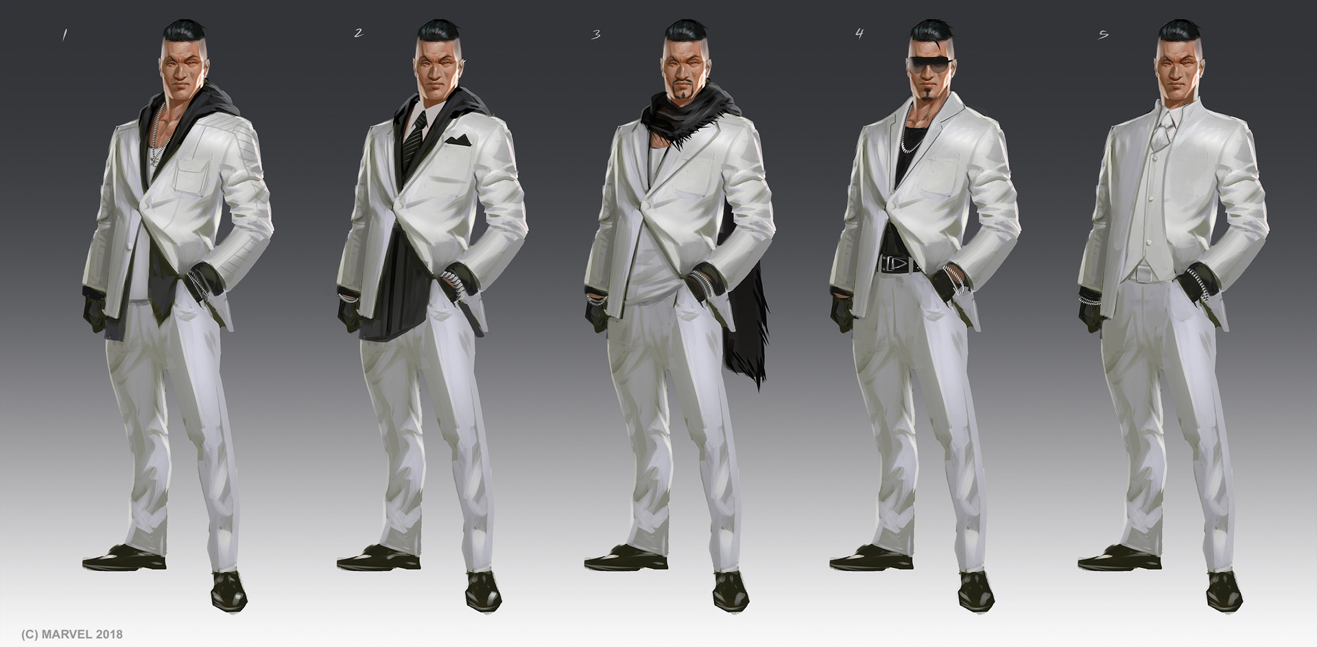 Daryl mandryk mr negative color sketches