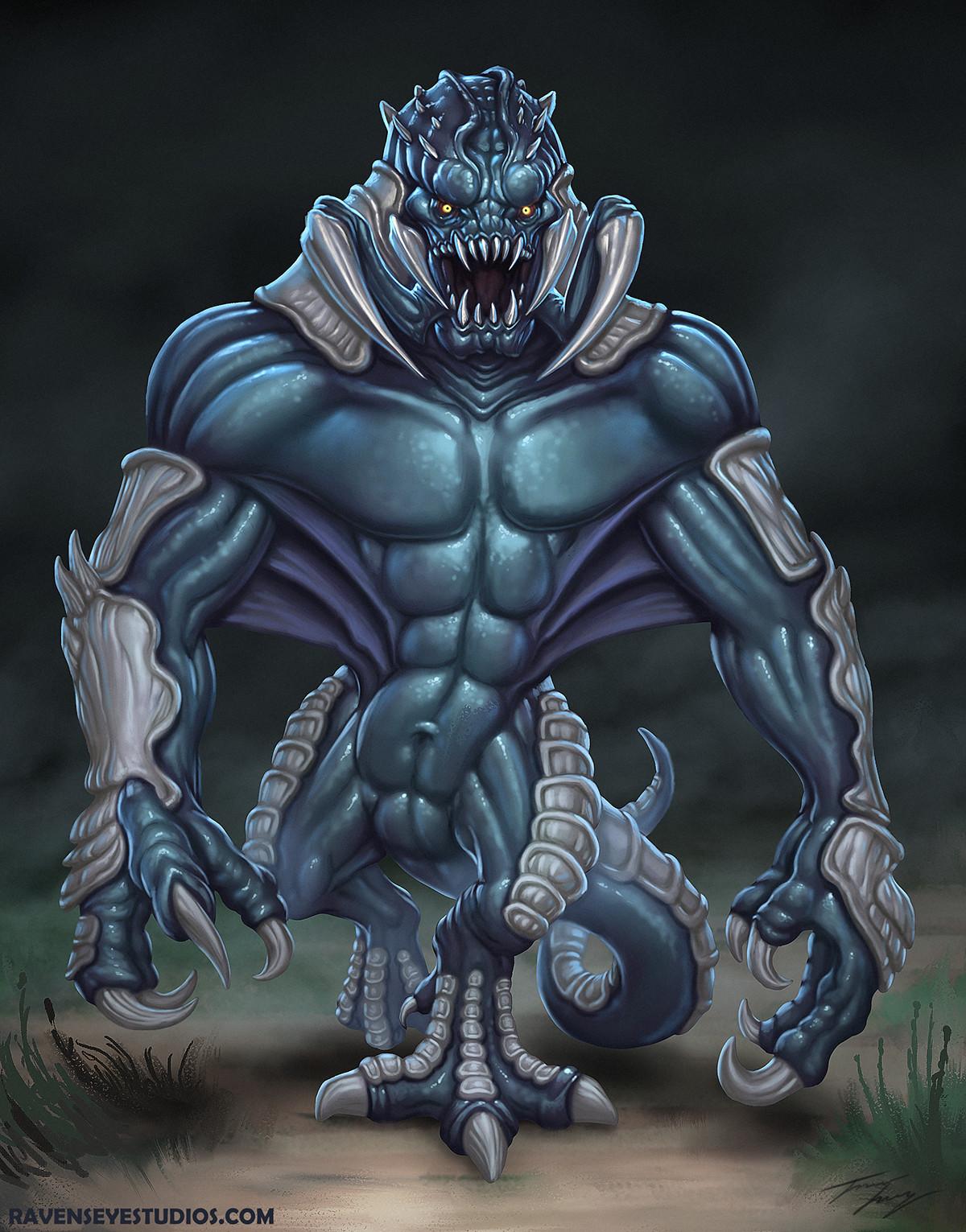 Hulking creature