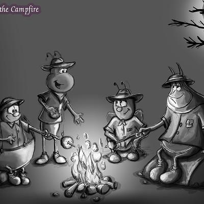 Cristina zoica dumitru campfire 16