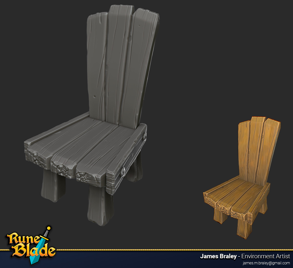James braley braley runeblade chair