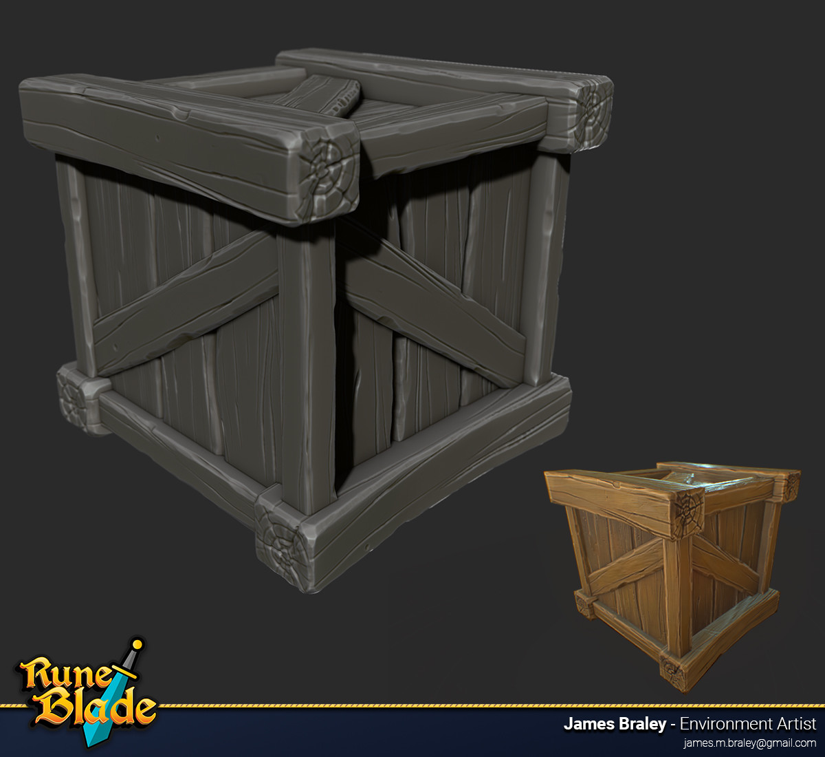 James braley braley runeblade crate