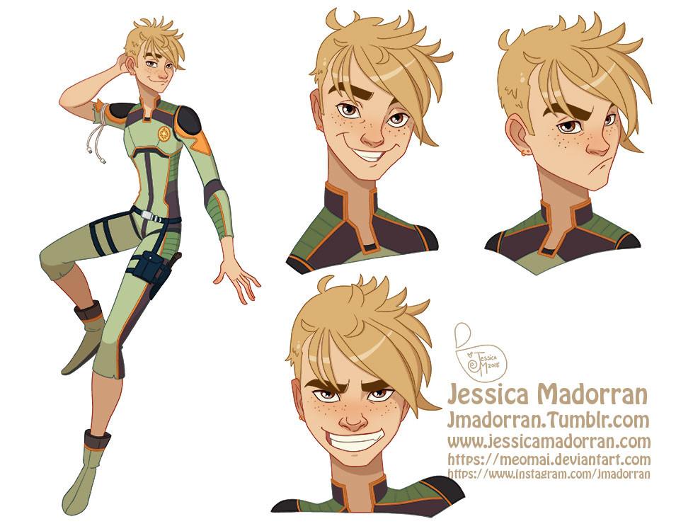 Jessica madorran character design peter pan 2018 artstation