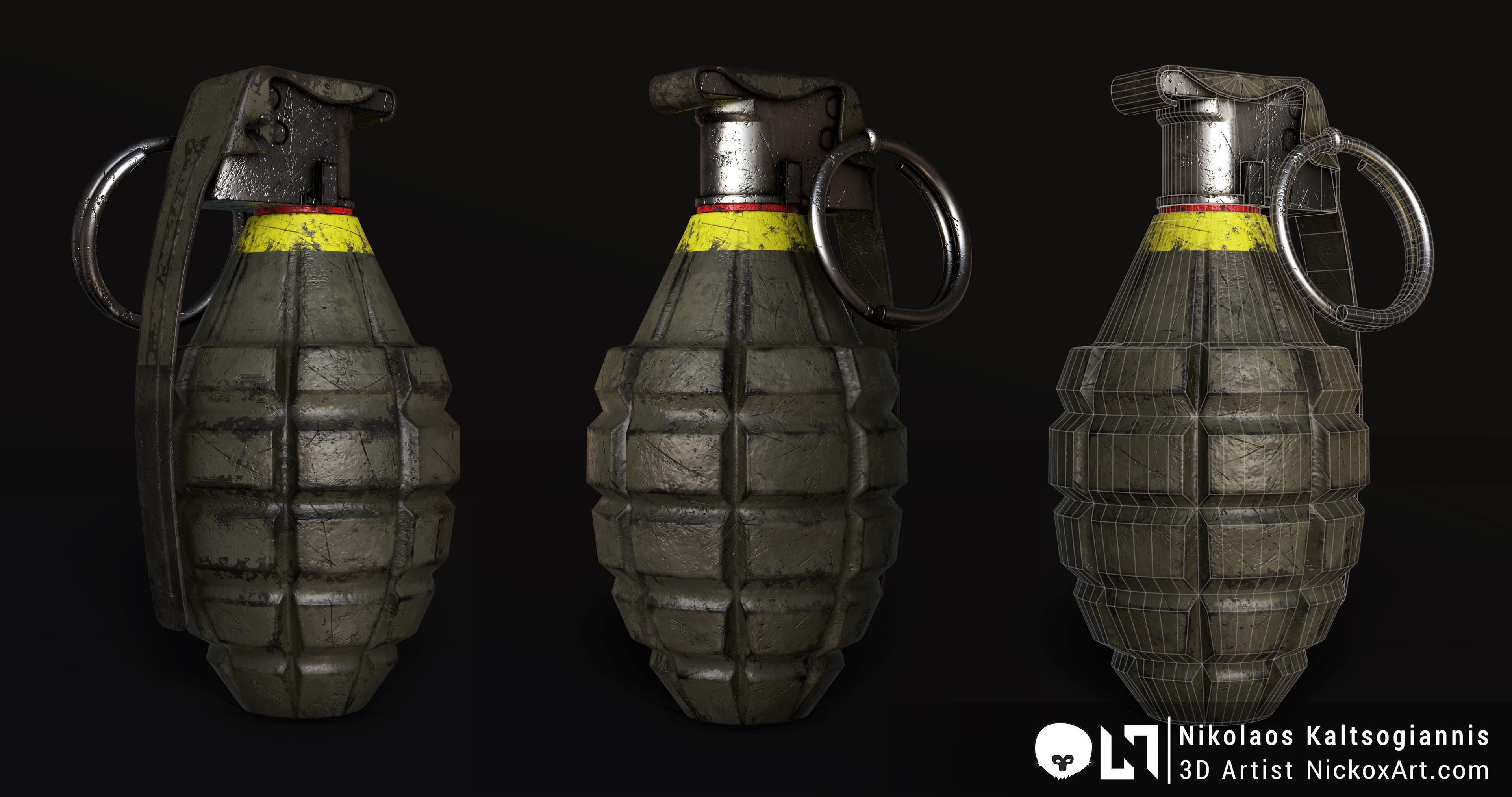 MKII Grenade.