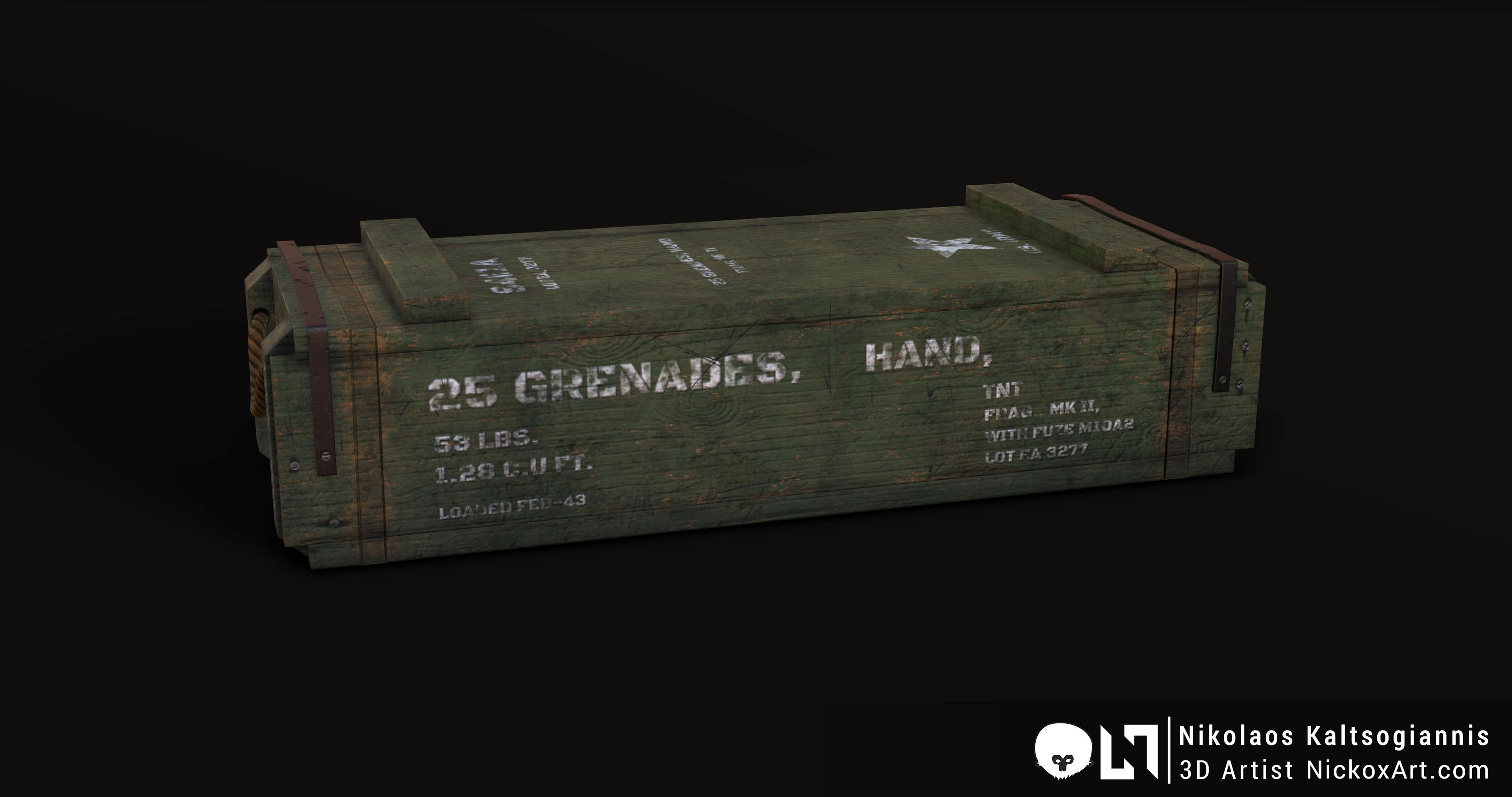 Grenade Crate.
