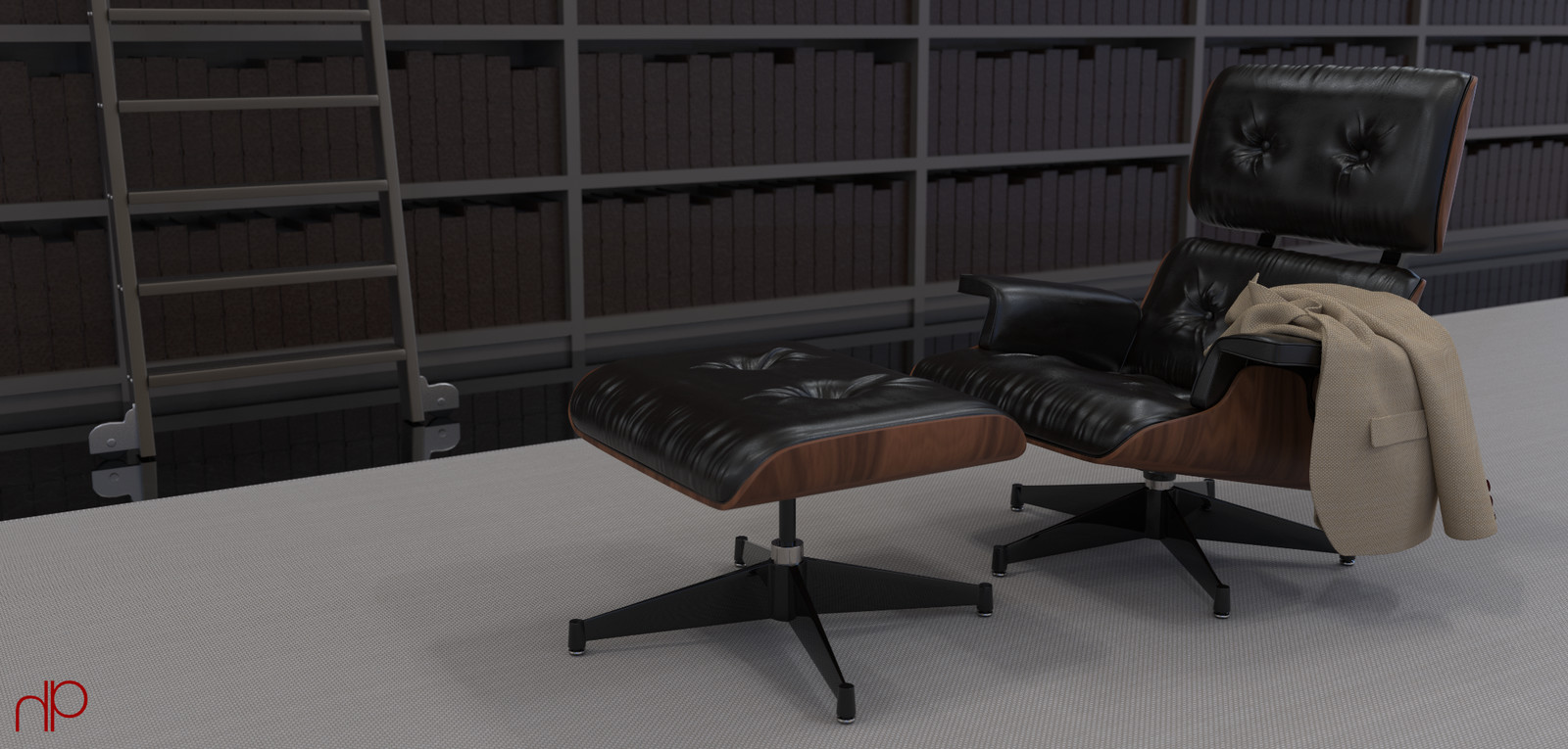 3D Modelling: Regard For Eames
