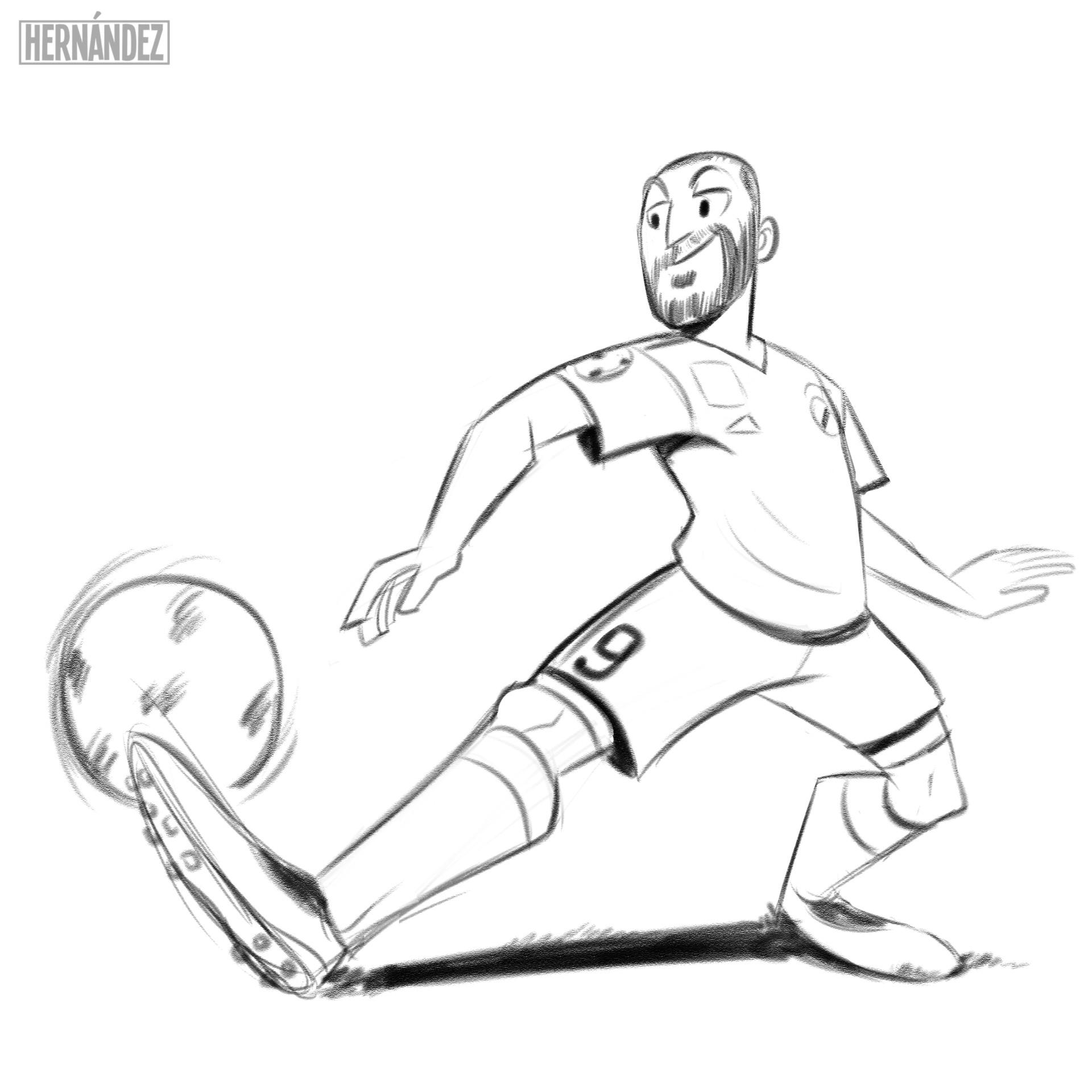 Karim Benzema. 2018