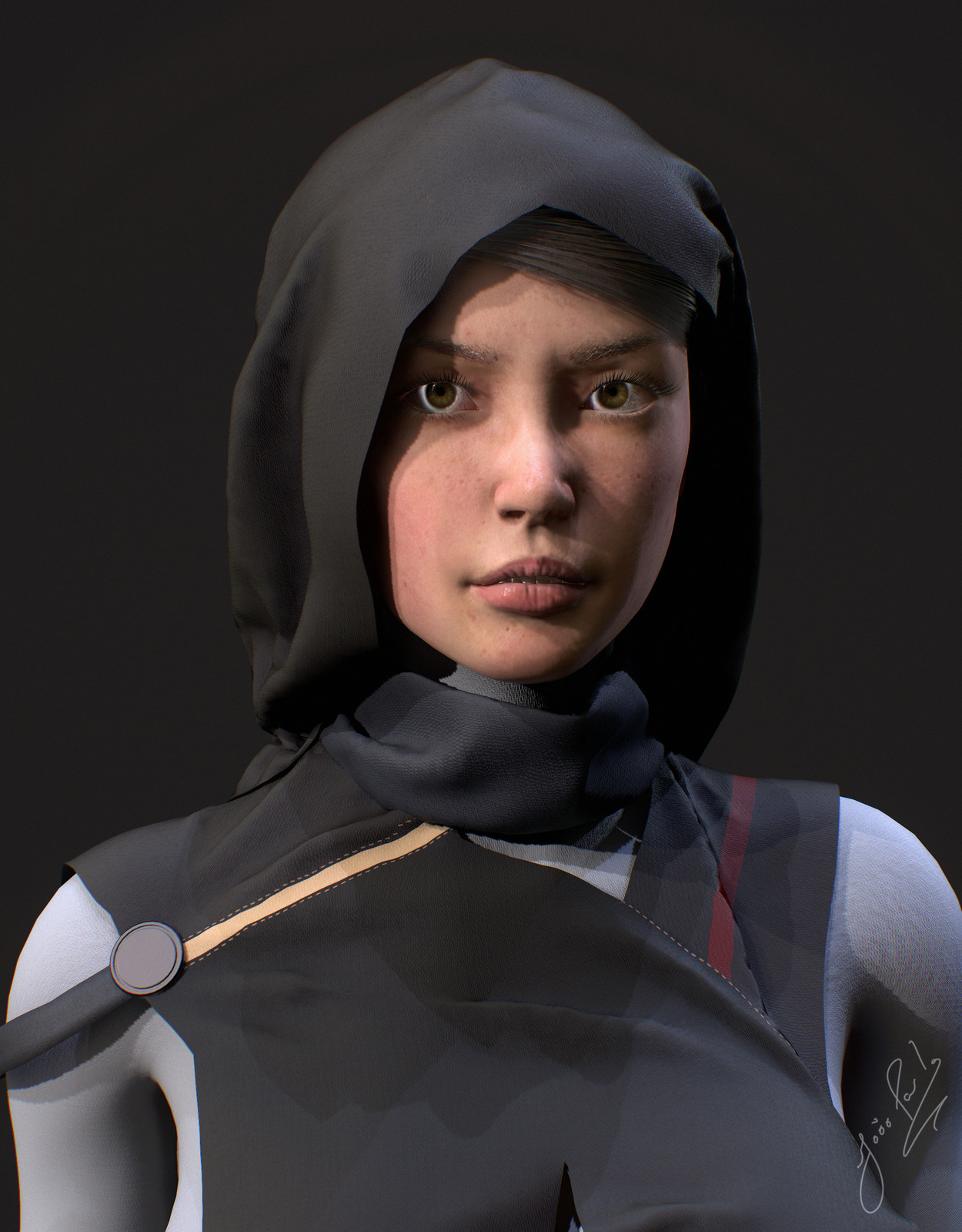 Melissa - Real time character