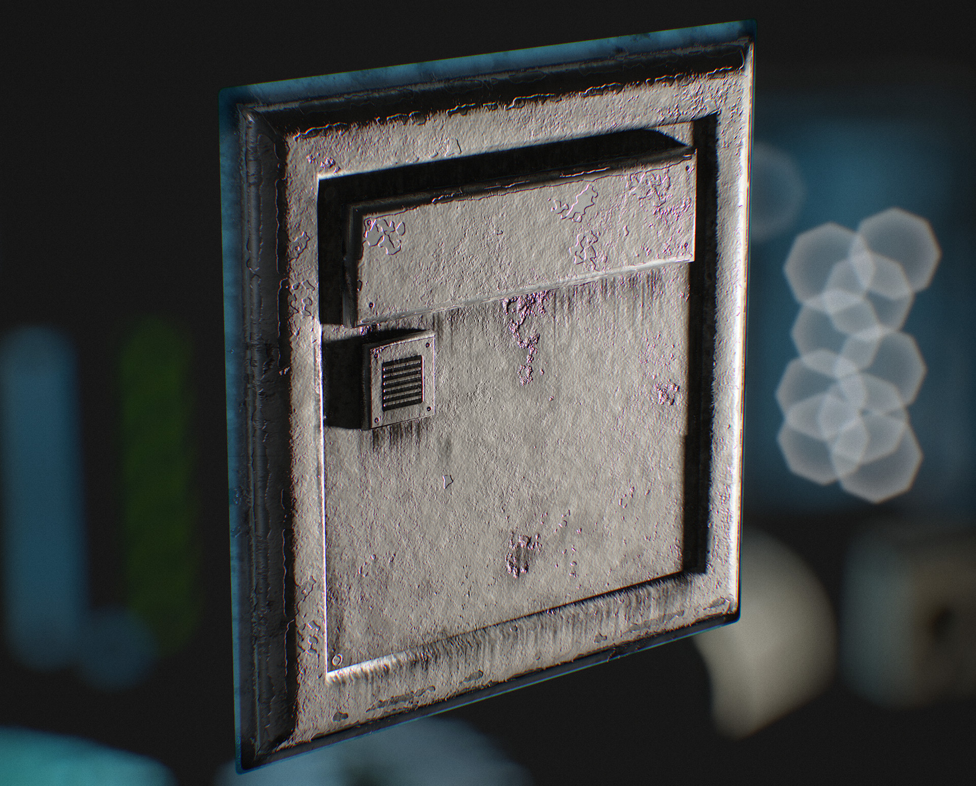 Hannu koivuranta asset wallplate detail