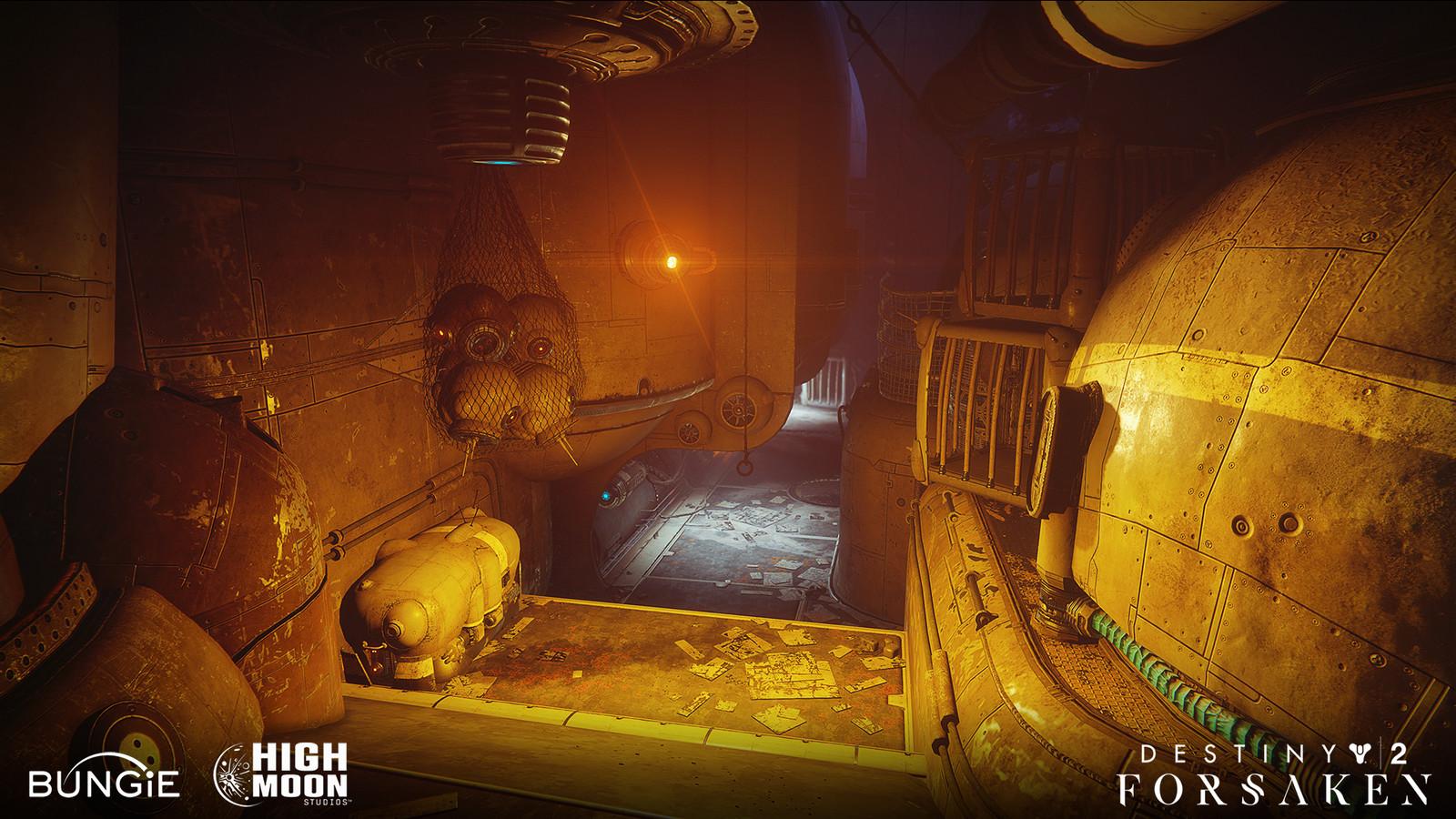 Destiny 2: Forsaken - Alexander Alza - High Moon Studios