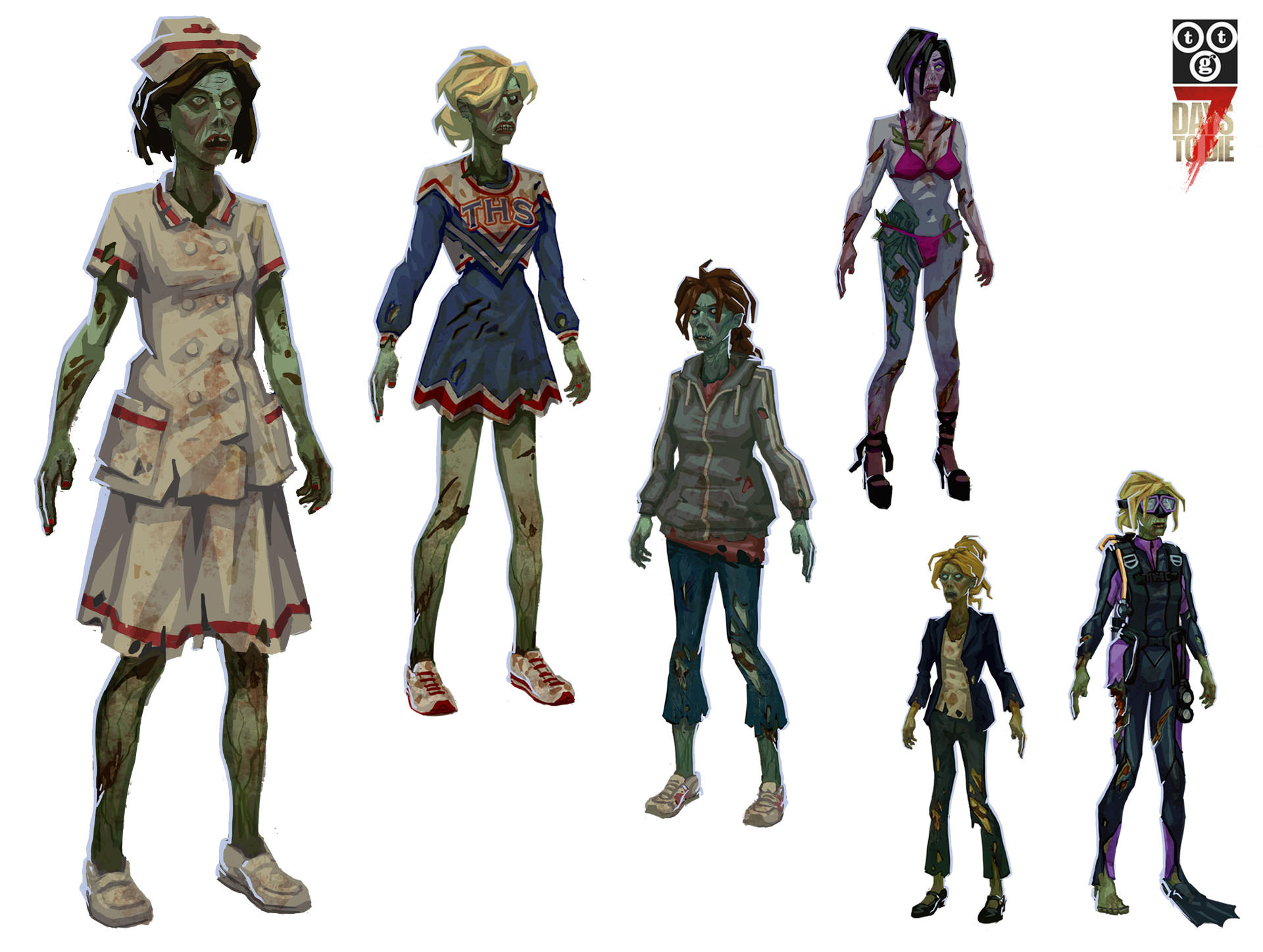 Bruce glidewell female zombies
