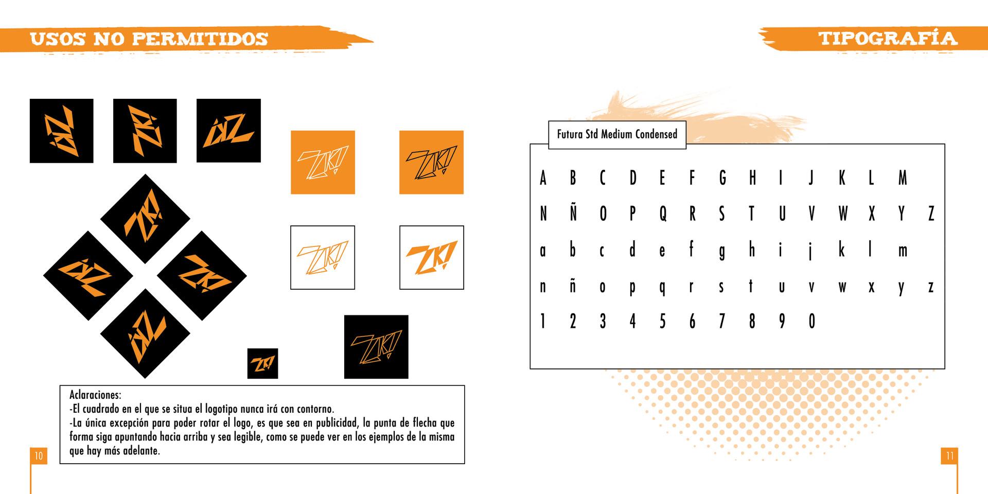 ArtStation - Zaska Animation - Corporate identity manual, Arturo