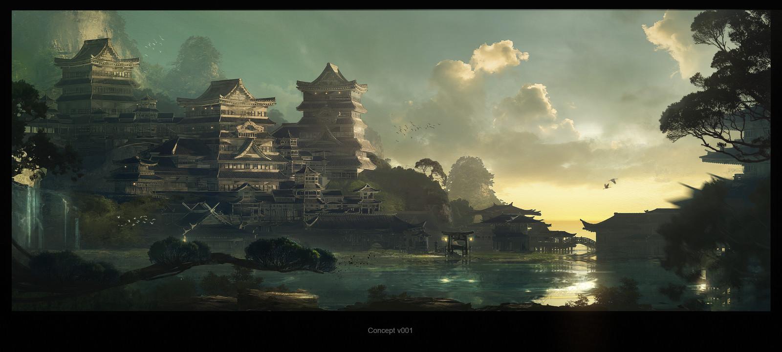 Feudal Japan: The Shogunate - Environment Design