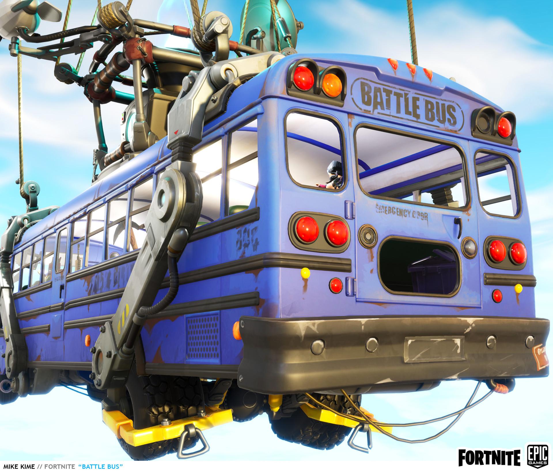 Mike kime fortnite battle bus back