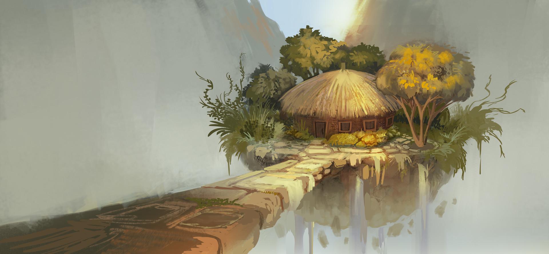 Casey gustafson floating hut