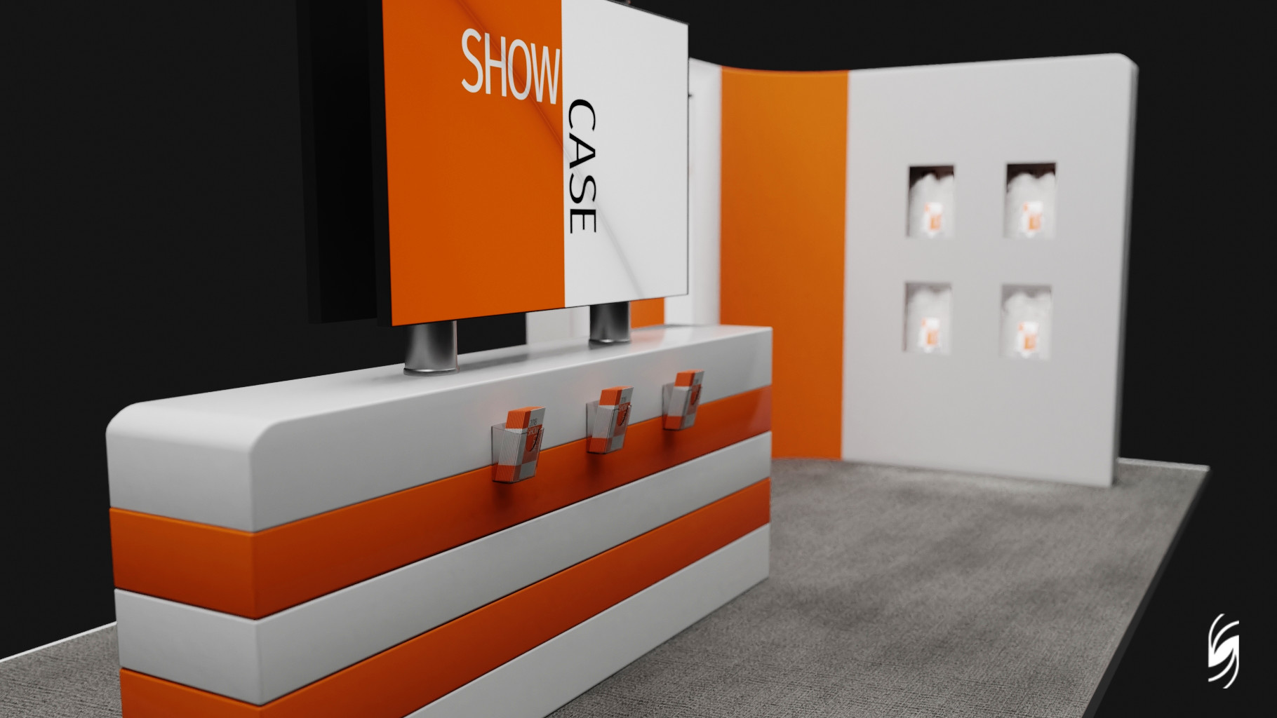 Exhibition Stand Design Price : Artstation exhibition stand concept stefan price