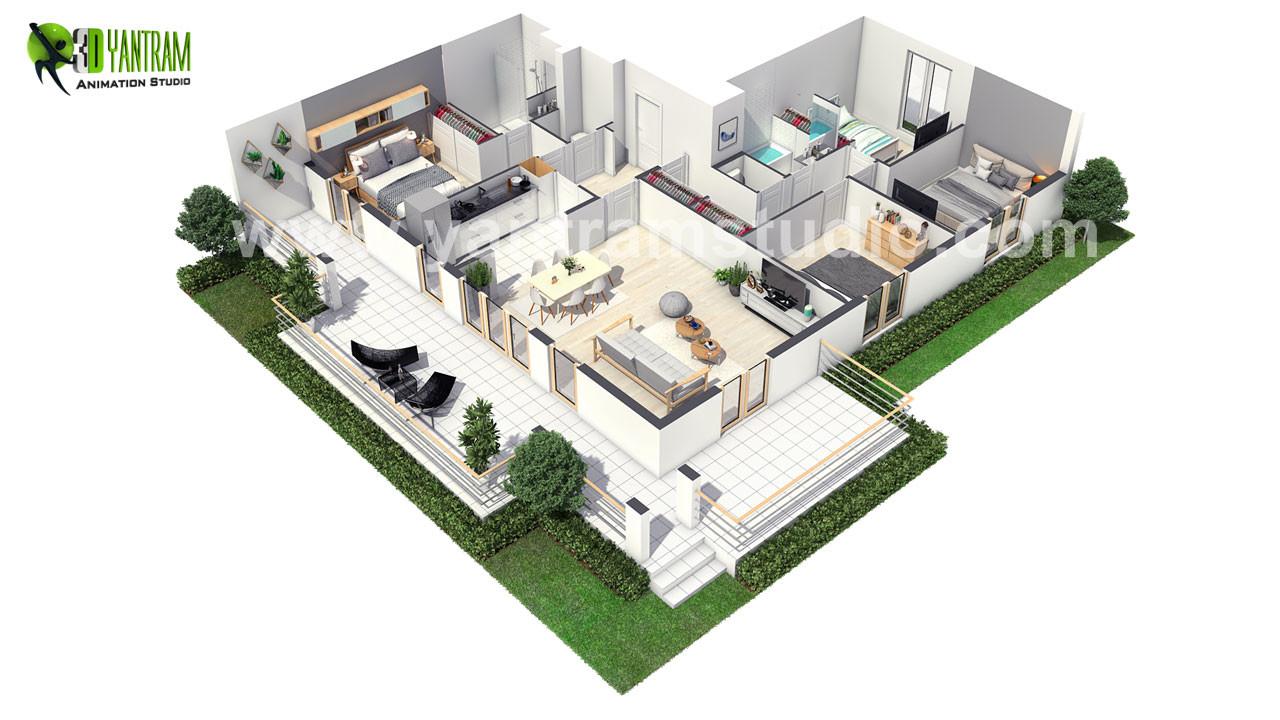 Floor Plan Design ideas by Yantram