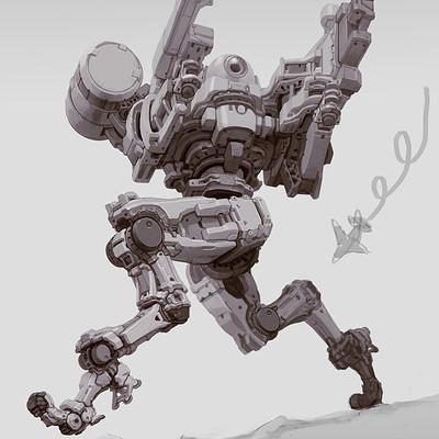 Min seub jung robot 07