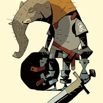 Satoshi matsuura 2018 09 13 elephant knight s