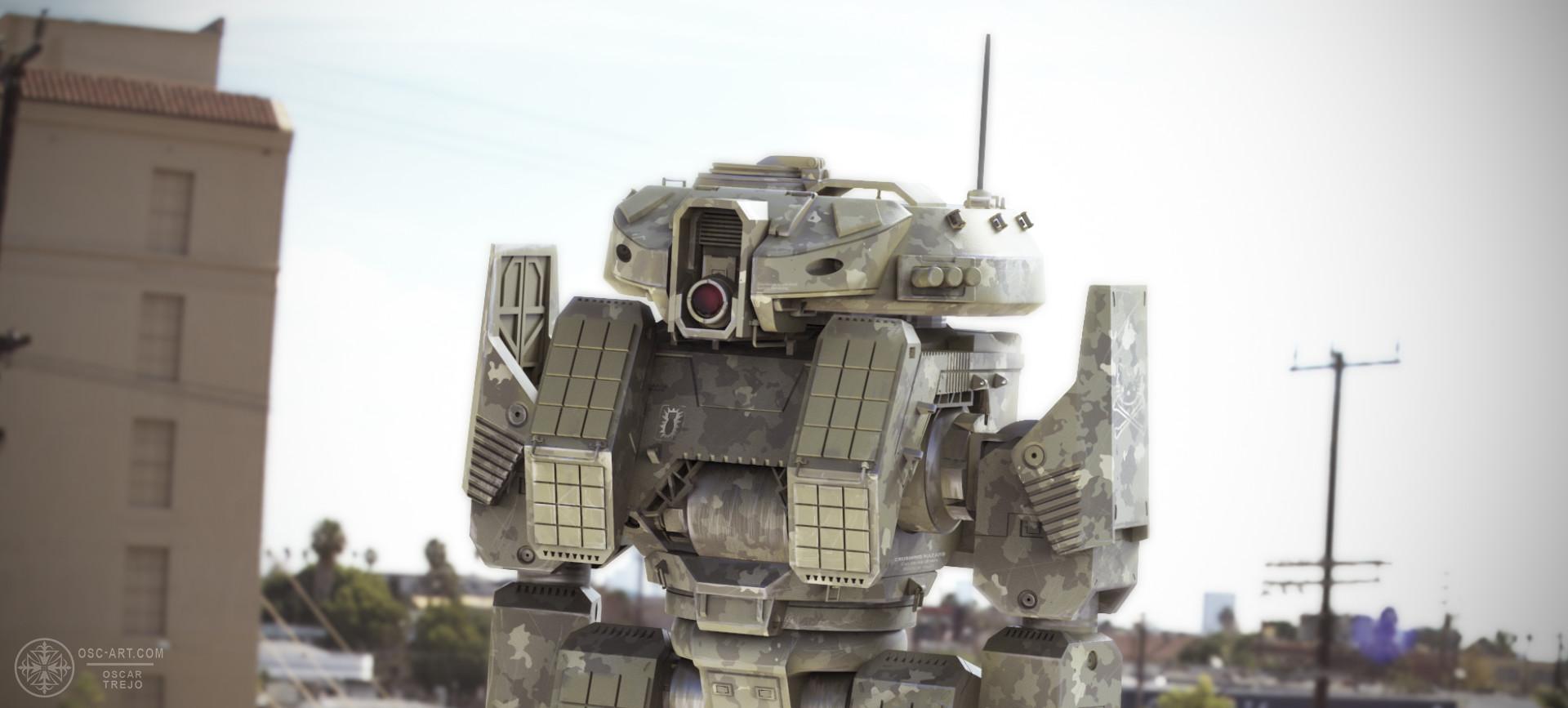 Oscar trejo tank3
