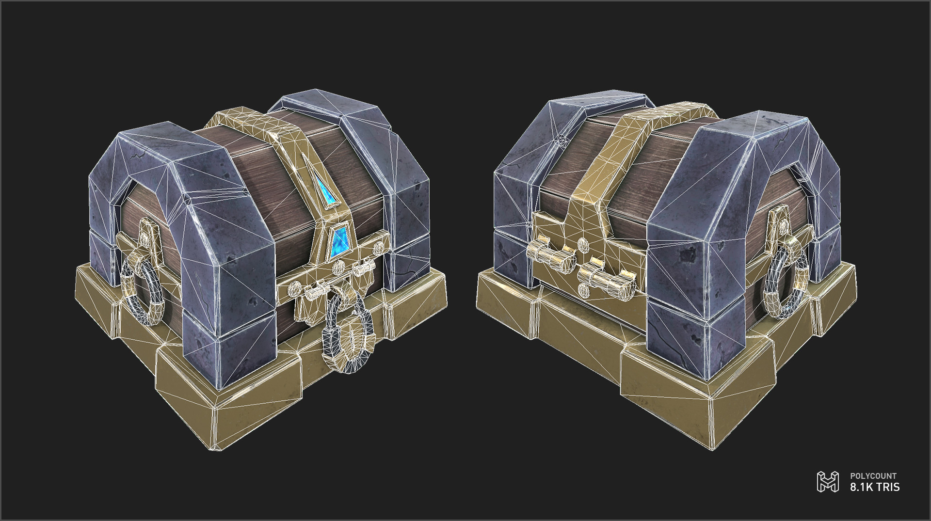 Marc virgili chest lowpoly newcolor