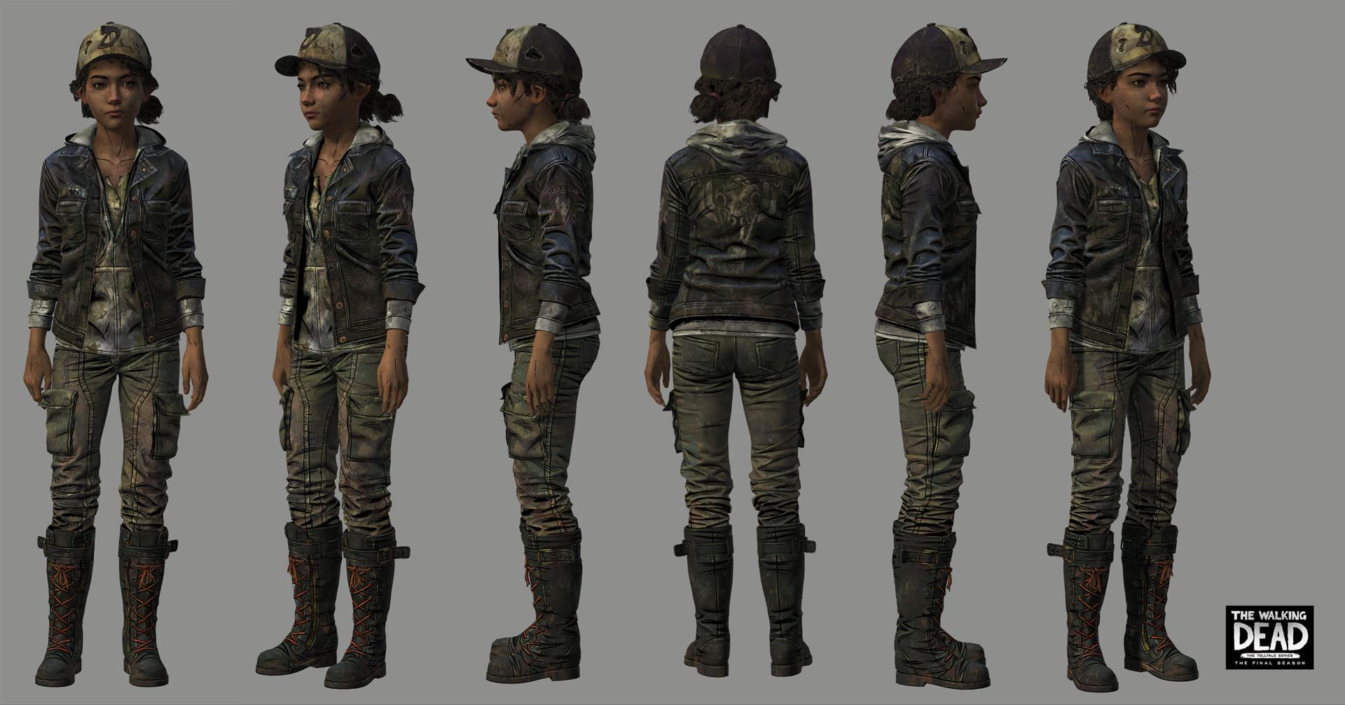 Artstation The Walking Dead The Final Season Clementine