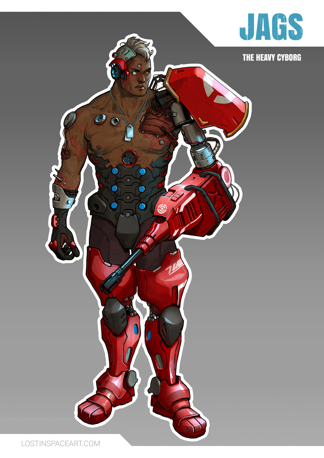 Character Design: Heavy Cyborg, Scouts & Mercipaths