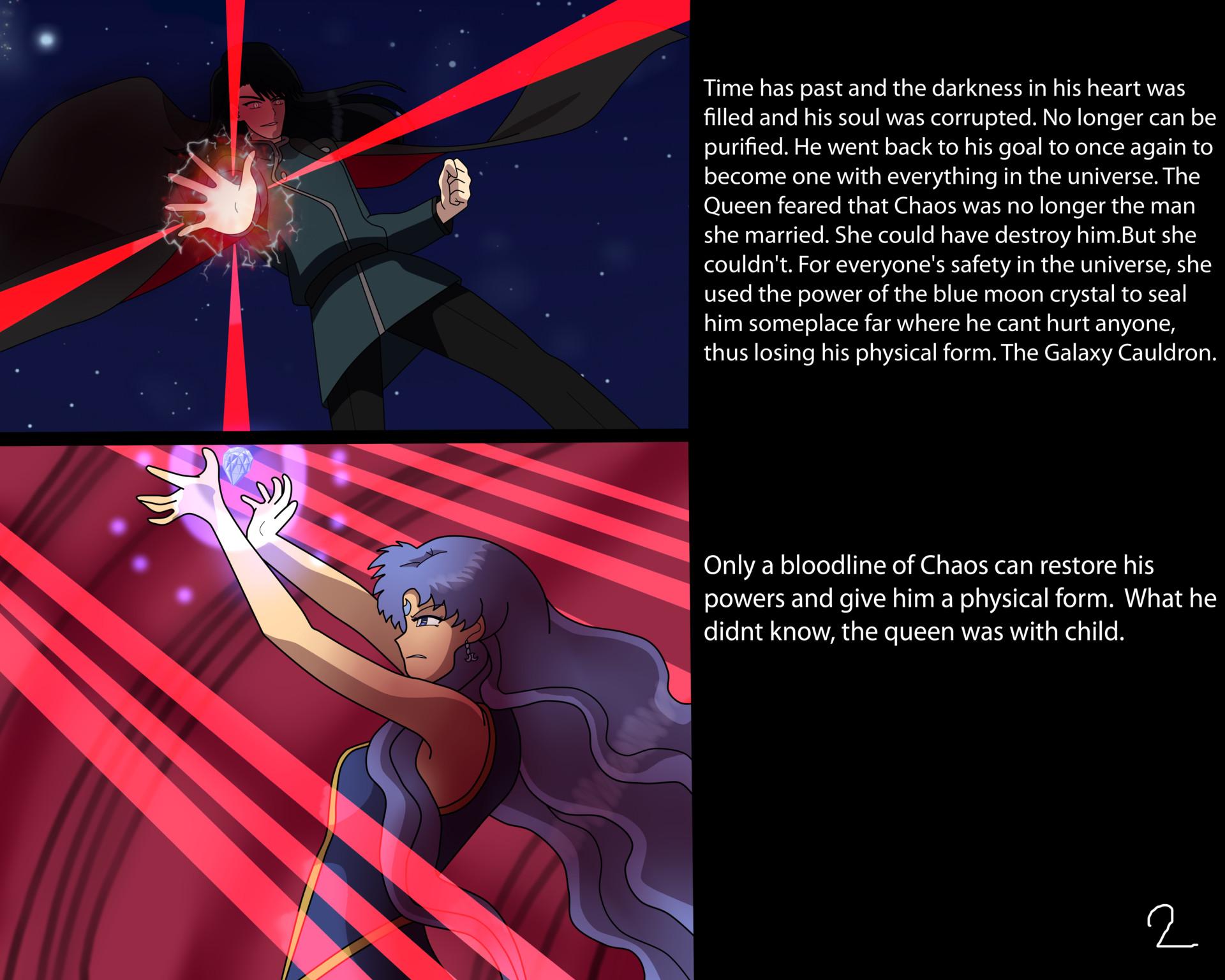 ArtStation - Sailor Blue Moon's Past 02, Moon Light