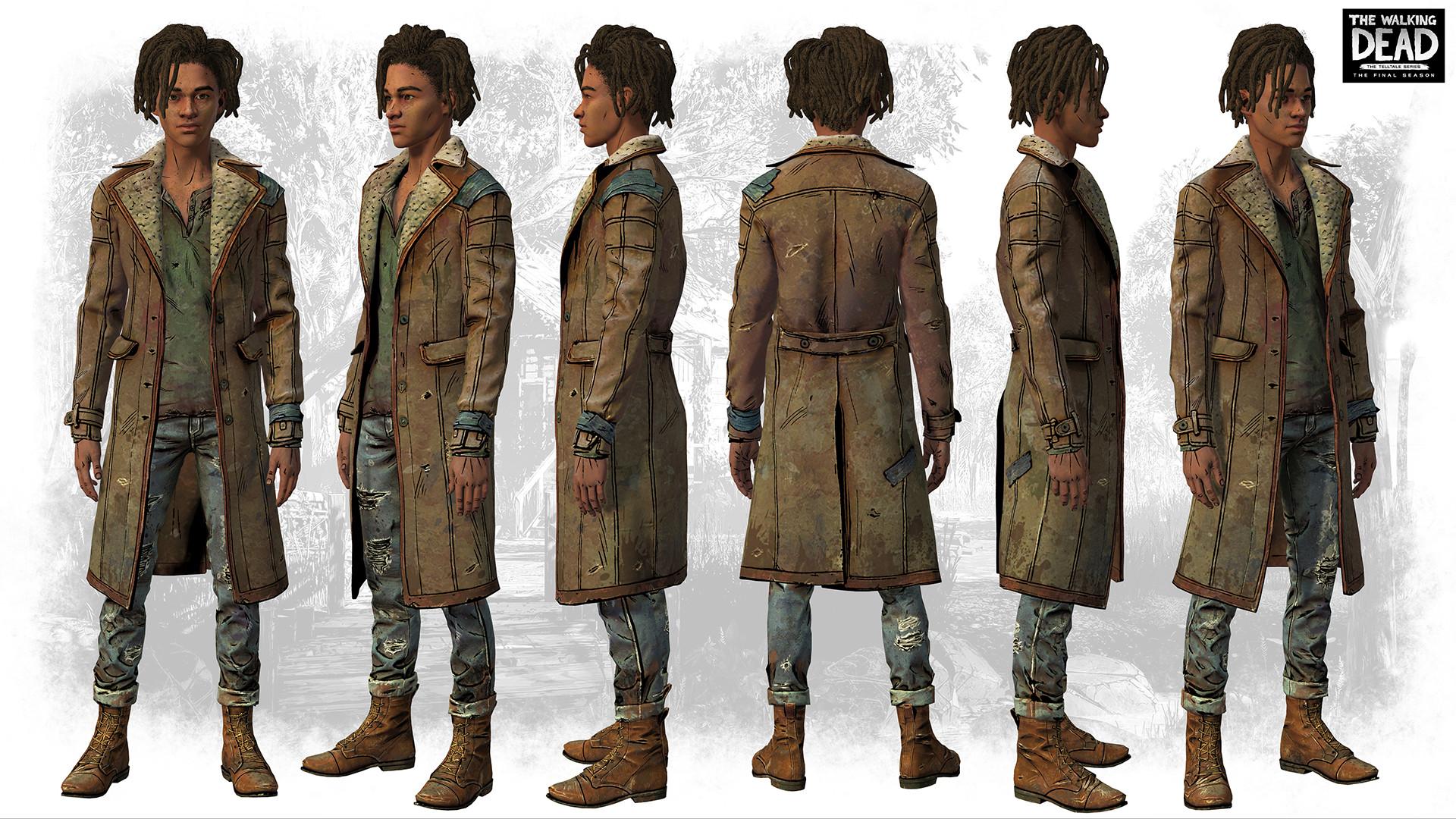 Artstation The Walking Dead The Final Season Louis
