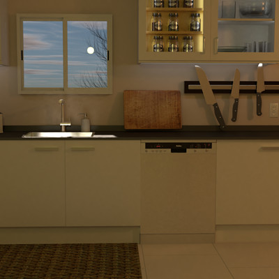 Tucker epp kitchen render